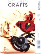 OOP McCalls Crafts Pattern M5491. Cardinal, Chicken & Loon BIRD PURSES. Adorable, Must See!