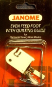 Janome Even Feed Foot with Quilting Guide Horizontal Rotary Hook Models