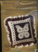 Paragon's Creative Moments Chainstitching + Needlecraft Pillow Kit - Lace Butterfly Designed by Adele Veres 8381