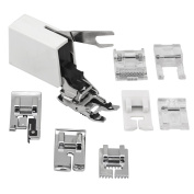 Sew Perfect 8pc. UtilityPresser Foot Package for All Low Shank - Singer, Brother, Janome, Babylock, Toyota, Riccar, Jaguar, Simplicity, White, Viking(Husky series), Bernina(Bernette), Juki, Pfaff (Hobby series), Elna sewing machines and more !