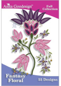 Anita Goodesign ~ Fantasy Floral ~ Embroidery Designs