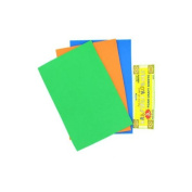 3 Pack Foam Craft Sheets (Assorted Colours) - Case of 48