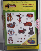 Amazing Designs For Pet Lovers I Embroidery CD, ADC-57TK