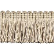 Brushed Fringe Polyester Brushed Fringe, 3.8cm , Ivory