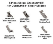 Singer 6 Piece Serger Accessory Kit for Quantumlocks