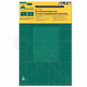 Olfa Gridded Cutting Mat Set-60cm x 180cm Clipped