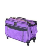 Medium Purple Mascot Tutto Machine on Wheels Sewing Carrier Case