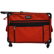 Tutto 50cm Medium Sewing Machine Bag on Wheels in Red