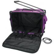 """TUTTO Machine On Wheels Case 50cm x 34cm X12""""-Purple"""