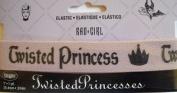 Disney Twisted Princess Elastic w Crown 2.5cm Wrights