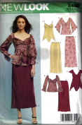 New Look Pattern 6406 Top Skirt Size A 10- 22