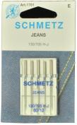 SCHMETZ Denim Sewing Machine Needles Size 12