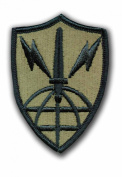 INFORMATION SYSTEMS ENGINEERING COMMAND SUBDUED 7.6cm MILITARY PATCH