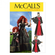 McCall Pattern Company M6817 Misses'/Children's/Girls' Costumes Sewing Template, Size MISS