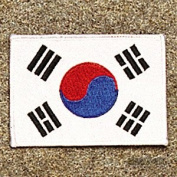 Korea - White Border Patch