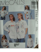 MISSES SHIRTS SIZE 16-18 LEARN TO SEW FOR FUN MCCALLS SEWING PATTERN #6380