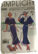 Simplicity 9360 Sewing Pattern 60th Anniversary Misses Dress Size RR 14-20