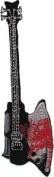 Novelty Iron on Patch - Music / Bands Kiss Demon's Bass Guitar Applique