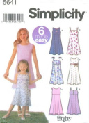 Simplicity 5641 (6) made easy dresses Size K5