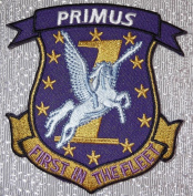 BATTLESTAR GALACTICA Primus 1st Fighter Squadron 8.3cm Wide Embroidered PATCH