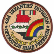 42nd Infantry 10cm Operation Iraqi Freedom Patch