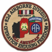 82nd Airborne 10cm Operation Enduring Freedom Patch