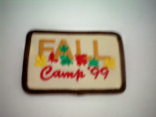 Girl Scout Patch -- FALL Camp '99 -- Scouting Patch