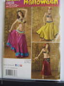 Simplicity Halloween Pattern #0858 Misses Costumes Size 14-22