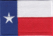 Texas Lone Star State Embroidered Flag Patch
