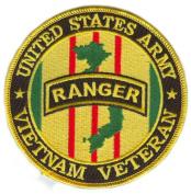 US Army Ranger Vietnam Veteran 10cm Patch