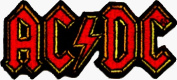 AC/DC Embroidered Logo Patch #19031
