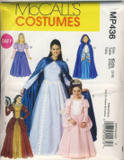 McCall Sewing Pattern MP436 (M6420) - Use to Make - Easy Kids Renaissance / Mediaeval / Princess Costumes - Sizes 3-8