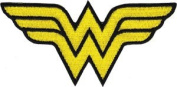 DC Comics Wonder Woman Logo Licenced Embroidered Iron On Movie Applique Patch