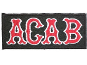 ACAB Cafe Racer Tonne Up Skinheads Outlaw Biker Iron On Sew On Embroidered PatchApprox