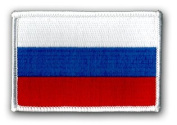"FLAG OF RUSSIA 3½"" SHOULDER PATCH"