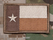 Mil-Spec Monkey Texas Flag Patch-Desert
