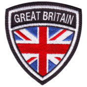 UK Great Britain Crest Badge Flag Embroidered Sew On Patch