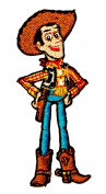 "Disney Pixar Toy Story ""Woody the Cowboy"" Kids Children Iron on Applique Patch"