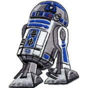 Star Wars R2D2 Movie Licenced Embroidered Iron On Patch SW35