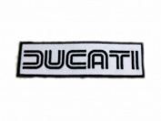 Ducati Logo Motorcycles Bike Patches Embroidered Patch SIZE : 3.2cm x 11cm