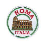 Rome Italy (d) Embroidered Sew on Patch