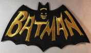 Batman 1960's TV Series Cape and Name Embroidered Logo PATCH