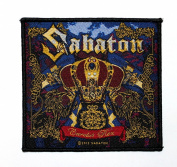 Sabaton Carolus Rex Power Metal Music Band Woven Applique Patch