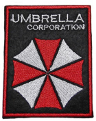 Resident Evil UMBRELLA CORPORATION Name and Logo 8.9cm Tall Embroidered PATCH