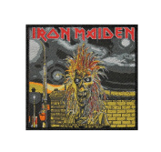 Iron Maiden Remember Tomorrow Heavy Metal Music Band Woven Applique Patch
