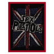 Novelty Iron on Patch - Band / Music Sex Pistols Cross Logo Applique