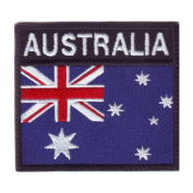 Australia Badge Flag Embroidered Sew On Patch