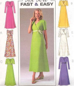 Butterick B4225 Six Sew Easy DRESSES Sewing Pattern Sizes