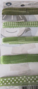 Decorative Ribbon Assortment Green
