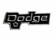 Dodge Truck Viper EMBROIDERED Patches Embroidered Patch SIZE : 3.8cm x 10cm